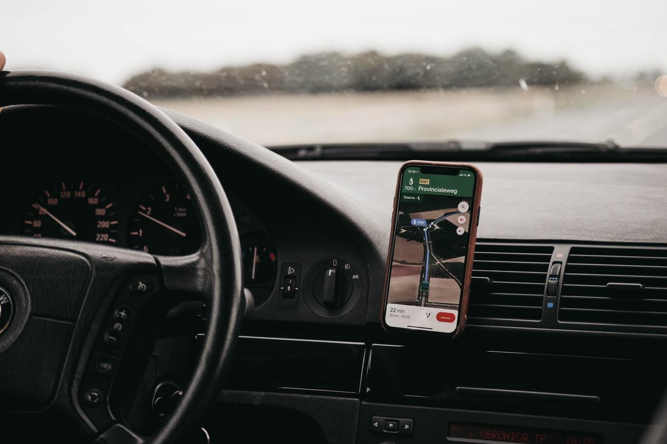 navigeren met smartphone