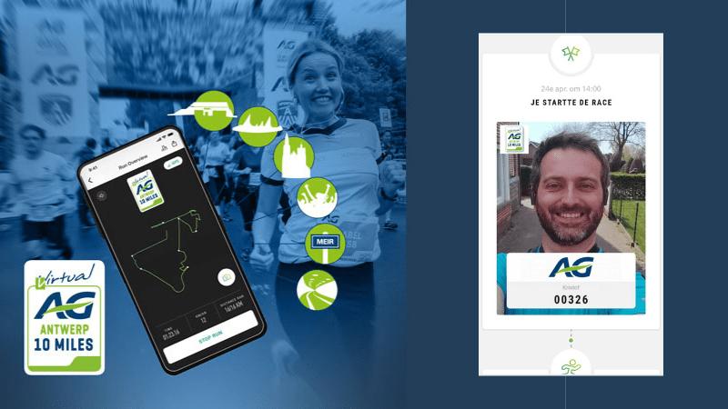 Uitgetest: Virtueel 10 miles lopen met de app MyTrace